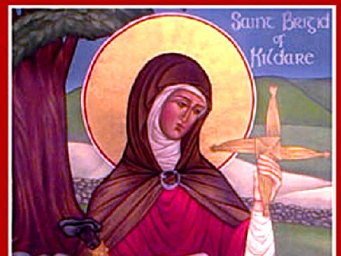 Bríd di Cill Dara, santa Brigida Kildare