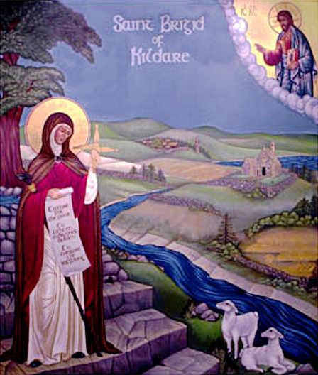 santa Brigida Kildare