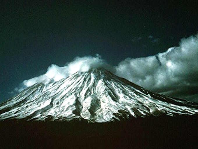 I vulcani della Kamchatka: Il vulcano Korjakskij