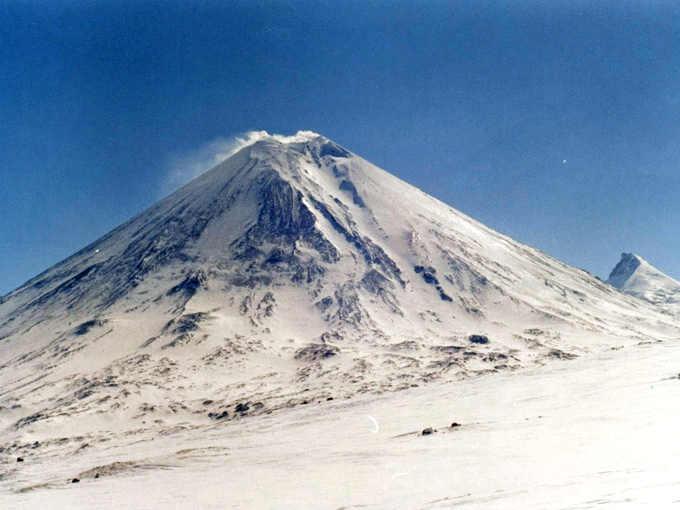 I vulcani della Kamchatka: Il vulcano Klyuchevskaya o Klyuchevskoi