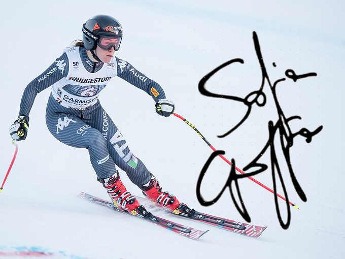 firma di Sofia Goggia