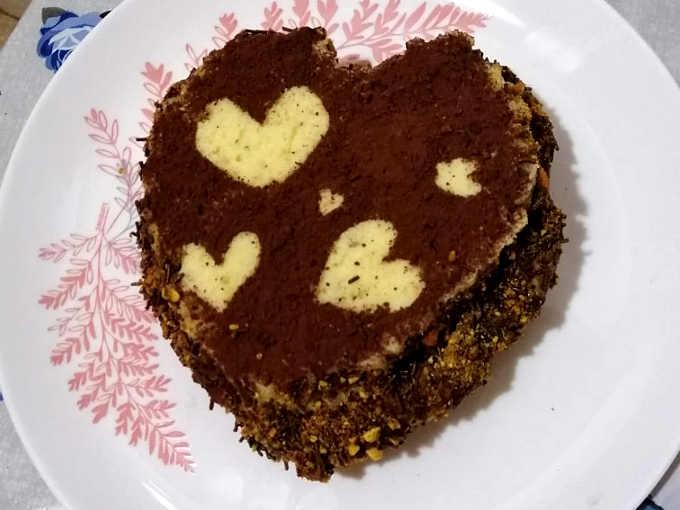 2 Torta cuore al pistacchio ricetta golosa