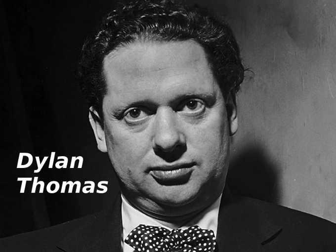 Il poeta Dylan Thomas