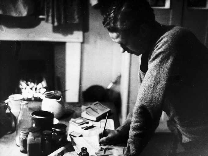 Dylan Thomas deceduto nel 1953