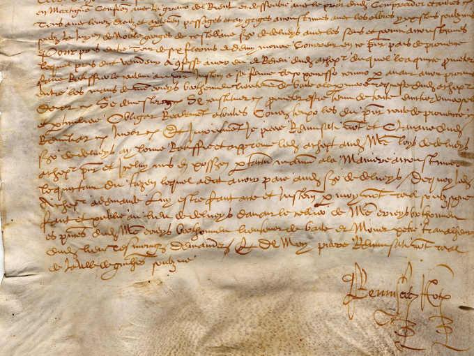 Le grandi biblioteche dell'Antichità: scritto su pergamena