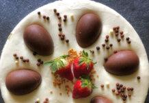 Cheesecake con riso soffiato crema al mascarpone Golosa