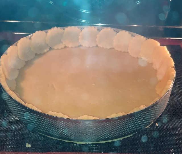 base per crostata in forno