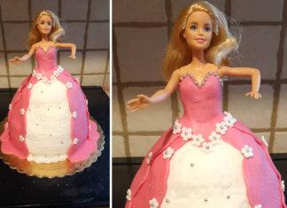 Torta Barbie con crema diplomatica ricetta passo passo