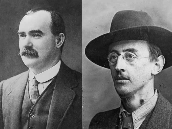 An Rialtas Sealadach, la Rivolta di Pasqua del 1916 James Connolly e Joseph Plunkett