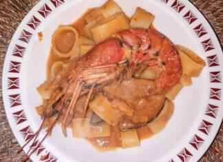 Calamarata ricetta con cozze nere e Bisque di Gamberoni e Scampi Favolosa
