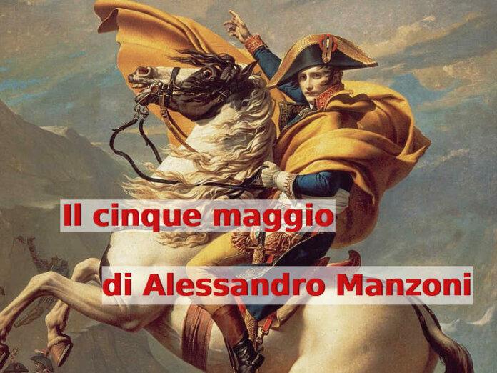 200 Anni dalla morte di Napoleone Il 5 maggio Ode di Alessandro Manzoni