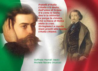 L'Inno nazionale, Fratelli d'Italia… «Il canto degli italiani» di Mameli e Novaro Testo e foto