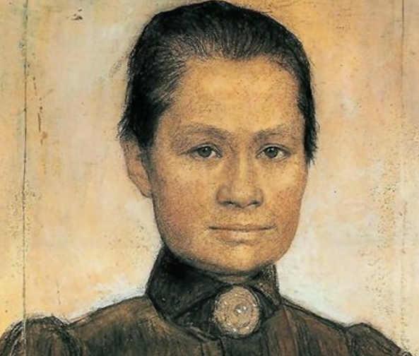 Ritratto di Johanna Bonger, di Johan Cohen Gosschalk, 1905