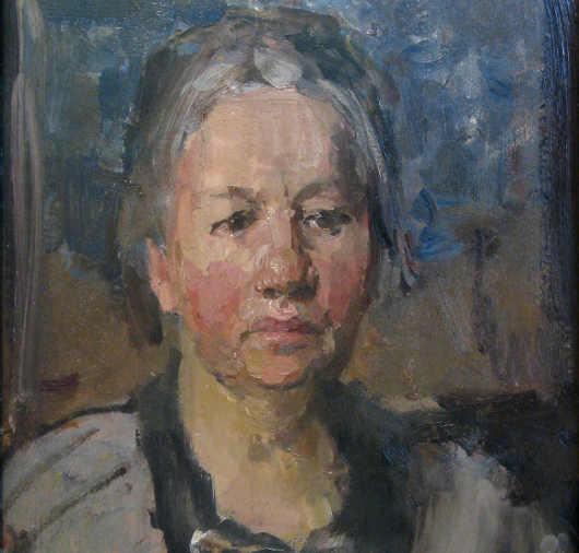 Ritratto di Johanna Bonger di Isaac Israëls (1925) nel Museo Van Gogh .