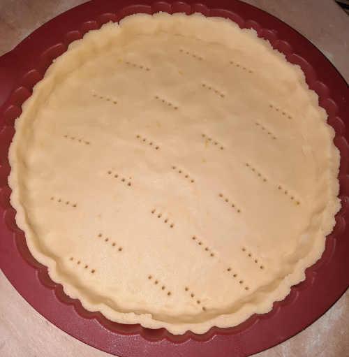base crostata moderna girasole senza glutine