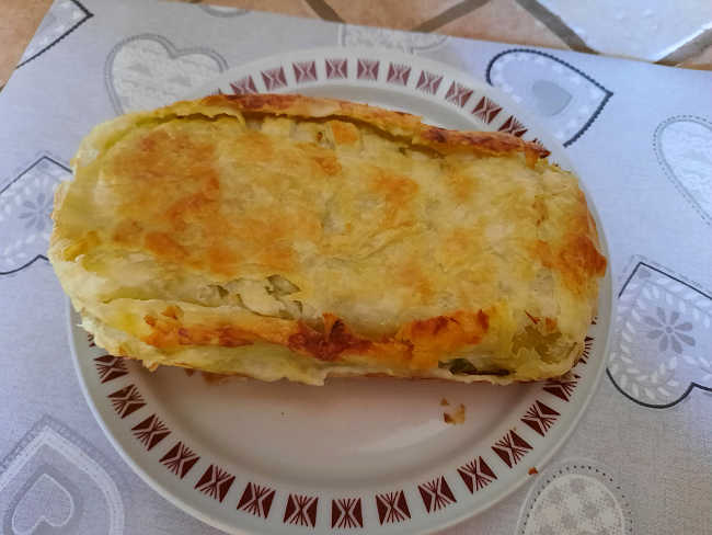 2 Salmone in crosta ricetta con zucchine e lamelle di mandorle