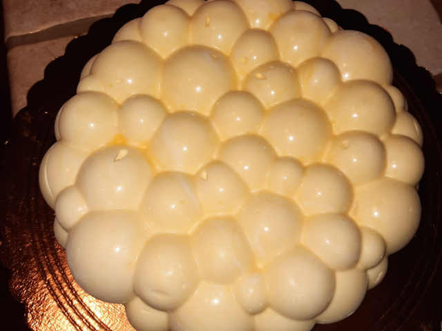 Torta Tiramisù Torta tiramisù moderna sformata