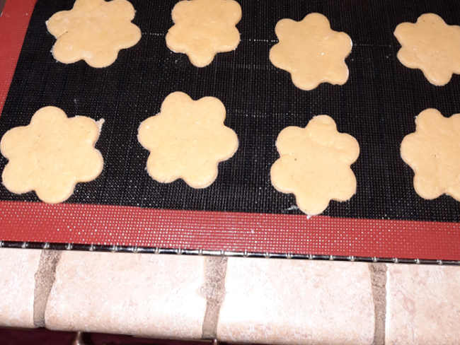 Biscotti al parmigiano senza glutine