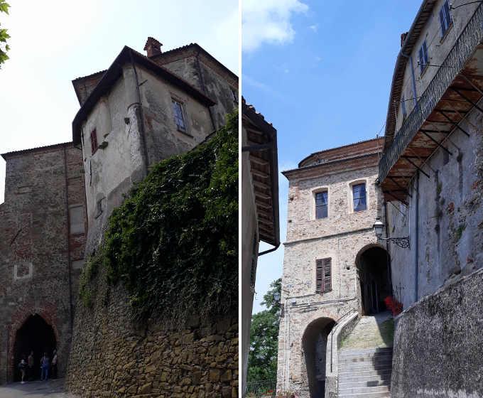La lavanda e il borgo di Sale San Giovanni