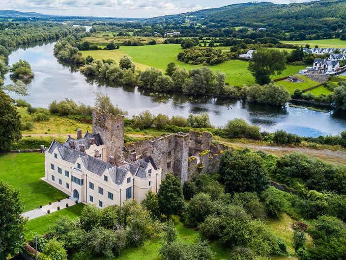 Ormond Castle di Carraig na Siúre del decimo conte, Black Thomas Butler