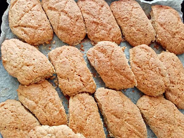biscotti integrali cotti
