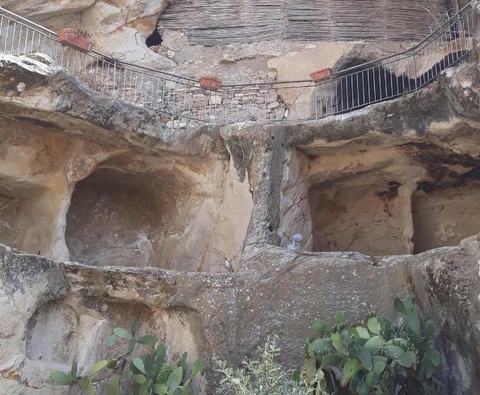 Le grotte reportage Sicilia