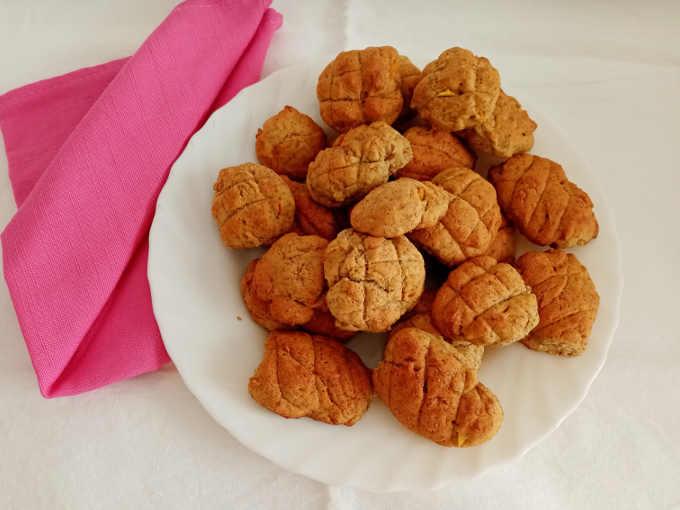 2 Biscotti alla ricotta integrali ricetta senza burro