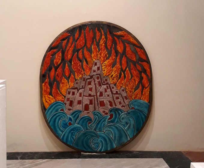 4 Foto della Mostra della Ceramica
