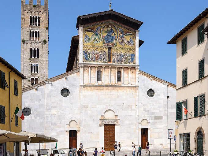La basilica di San Frediano, Lucca