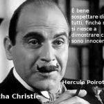 citazioni da libri gialli Agatha Christie, Hercule Poirot