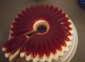 Torta gelèe di ciliegie panna cotta e mousse di gianduia ricetta senza glutine