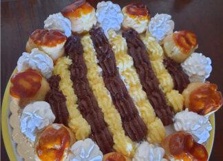 Torta Saint Honoré ricetta con crema chiboust golosissima