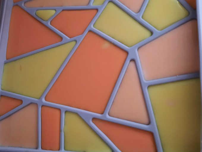 stampo mosaico congelato